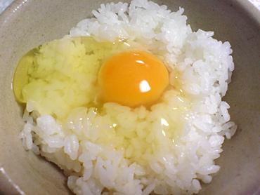 惜別の卵かけご飯