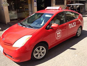 プリウスしか使わないというエコなタクシー会社Taxi Rouge