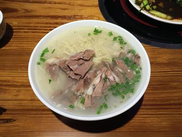 華南では楽しめない味