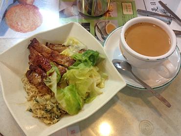 茶餐廳は咖啡より奶茶