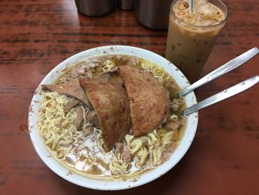 公仔麺は朝でしょ