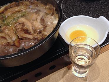 日本酒のペースが落ちるくらい食べる