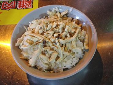 臭豆腐は胃のキャパがなく断念