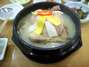威海韓香福の高麗蔘鶏湯