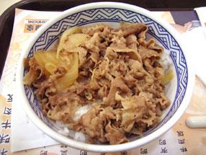 牛肉飯(中)