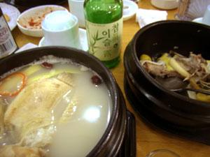 蔘鶏湯x2