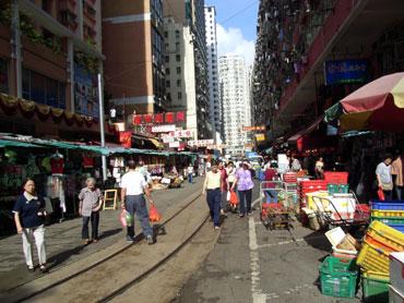 返還後くらいから中国人が増えすぎちゃった街