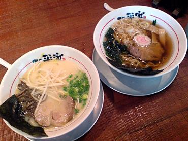 ちゃんぽんとか広東麺が売れ筋みたい