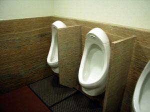長庚高爾夫倶楽部のトイレ