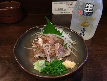 どこでも刺身で日本酒